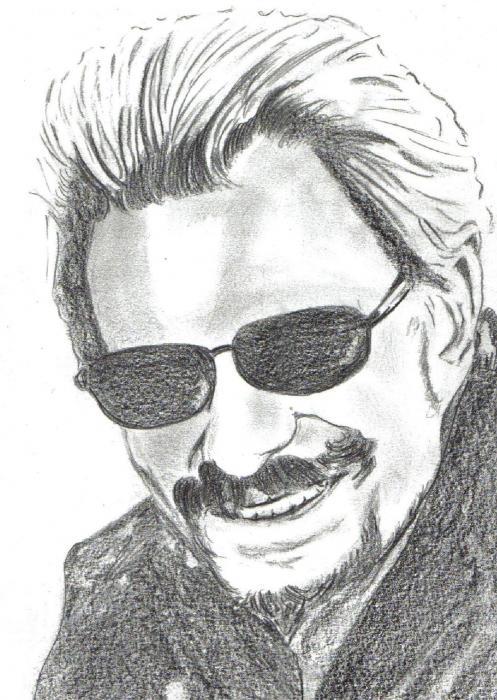 Johnny Hallyday by dessinsagogo55